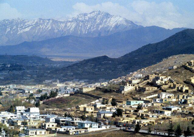 Вид города Кабул