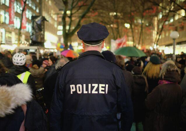 German policeman