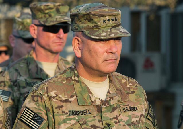 General John Francis Campbell, current commander of the International Security Assistance Force and United States Forces in Afghanistan
