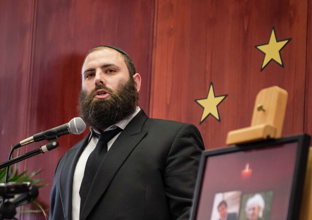 General Director of the European Jewish Association Rabbi Menachem Margolin