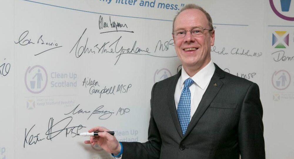 Member of Scotland's parliament Kevin Stewart