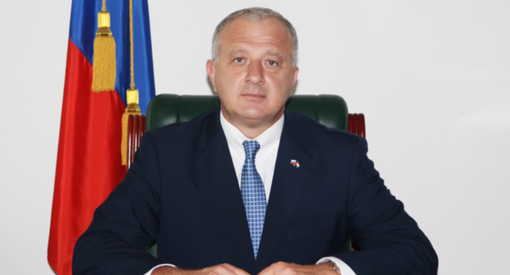 Consul General of Russia in Dubai and Northern Emirates Gocha Buachidze