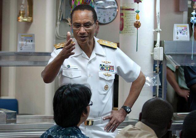 Adm. Cecil Haney, commander of US Strategic Command