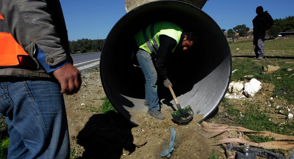 The water pipe that runs from Turkey to Northern Cyprus will become operational in July 2015, Turkey's forestry and water minister Veysel Eroglu said