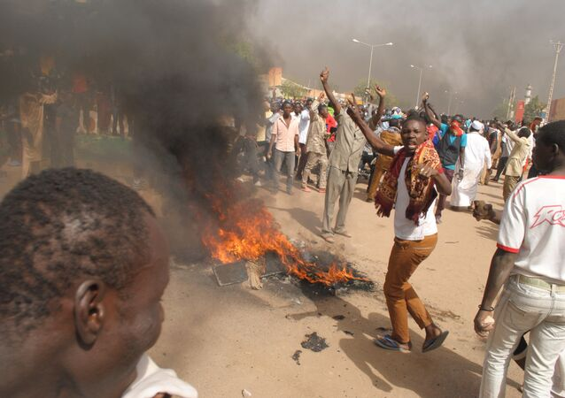 Protests in Niger