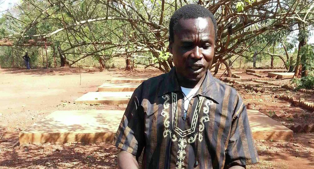 Dominic Ongwen, a senior Lord's Resistance Army commander