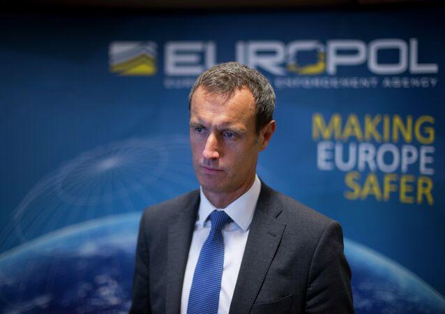 The head of the European police agency Europol, Rob Wainwright