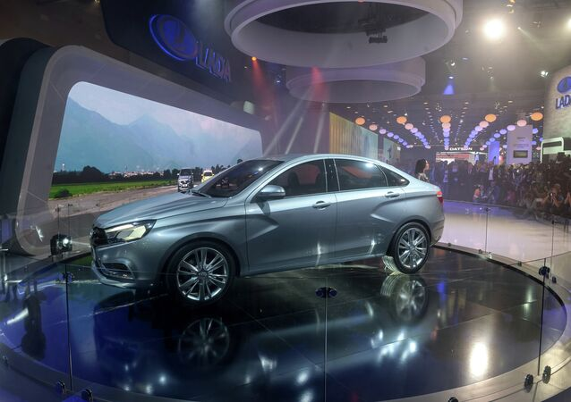 Lada Vesta / Moscow International Automobile Salon 2014