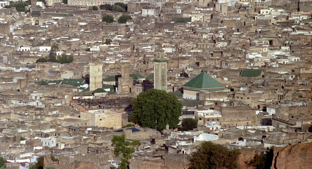 Fes general view, Morocco