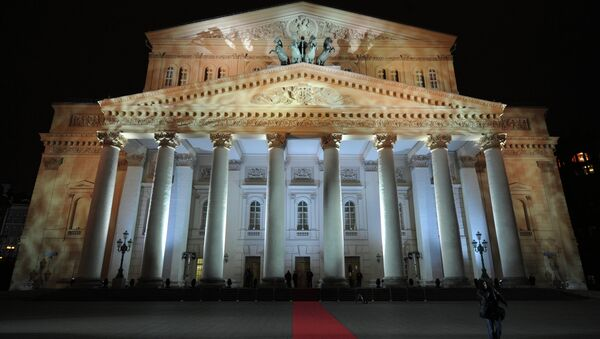 The main building of the Bolshoi Theatre in Moscow. - Sputnik International