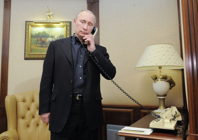 ussian President Vladimir Putin in a telephone conversation with Armenian President Serzh Sargsyan has once again expressed condolences to the relatives of a family murdered in Armenia's Gyumri on January 12 and the entire Armenian nation, the Kremlin spokesperson Dmitry Peskov said Sunday.