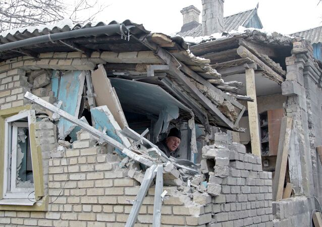 Сlashes in southeastern Ukraine have intensified in the past few weeks
