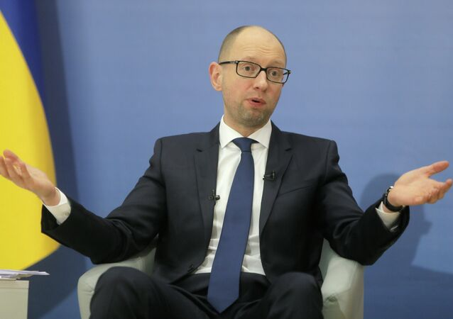 Ukrainian Prime Minister Arseniy Yatsenyuk has criticized the Ukrinterenergo's deal with Russian energy holding Inter RAO