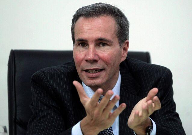 Former Argentine prosecutor Alberto Nisman
