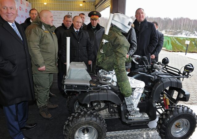 President Vladimir Putin visits research institute of precision mechanics and computer engineering
