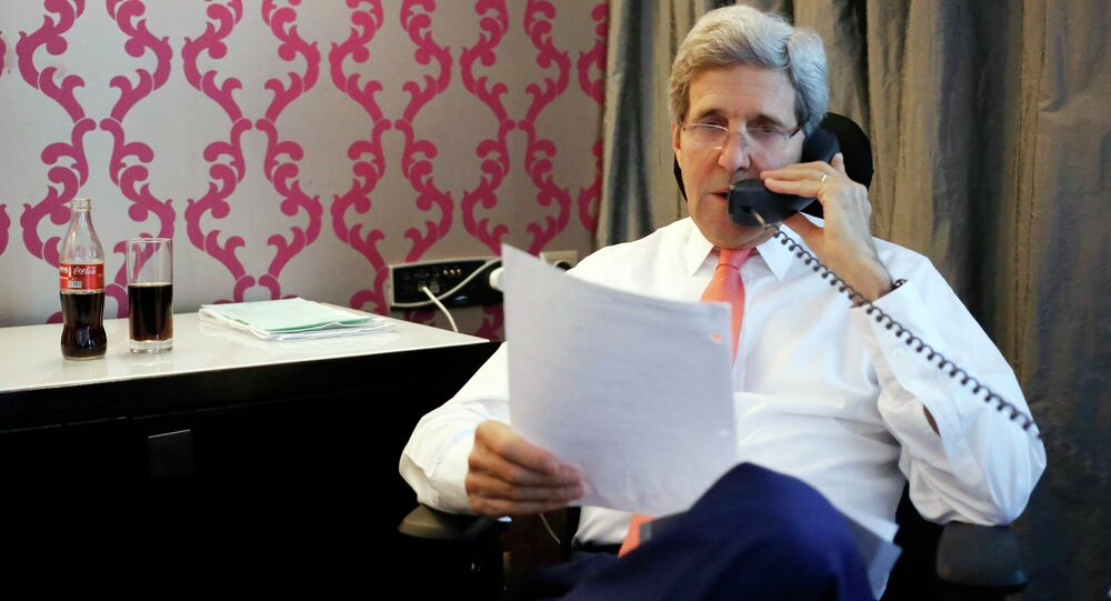 US Secretary of State John Kerry reaffirmed US support of the upcoming Moscow talks on reconciliation in Syria in a phone call with Foreign Minister Sergei Lavrov