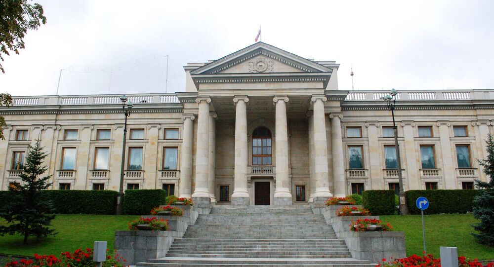 Russian Embassy in Poland