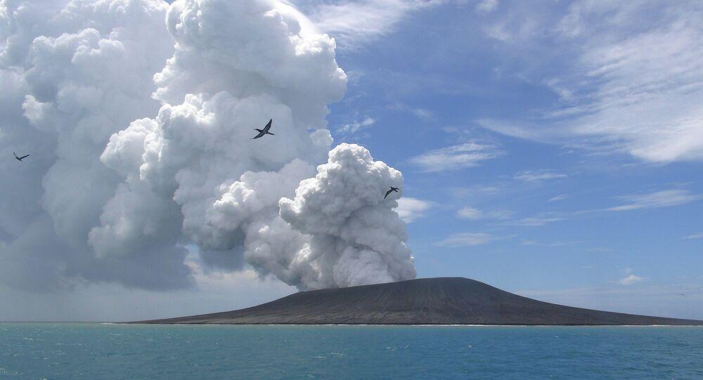 Tongan volcano