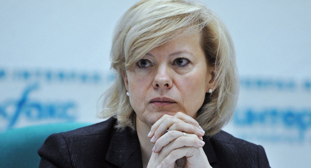 Ambassador of Latvia to Russia Astra Krume