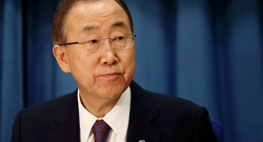 After a trolleybus stop was shelled in Donetsk city in eastern Ukraine, UN Secretary General Ban Ki-moon has expressed concern over targeted attacks on civilians
