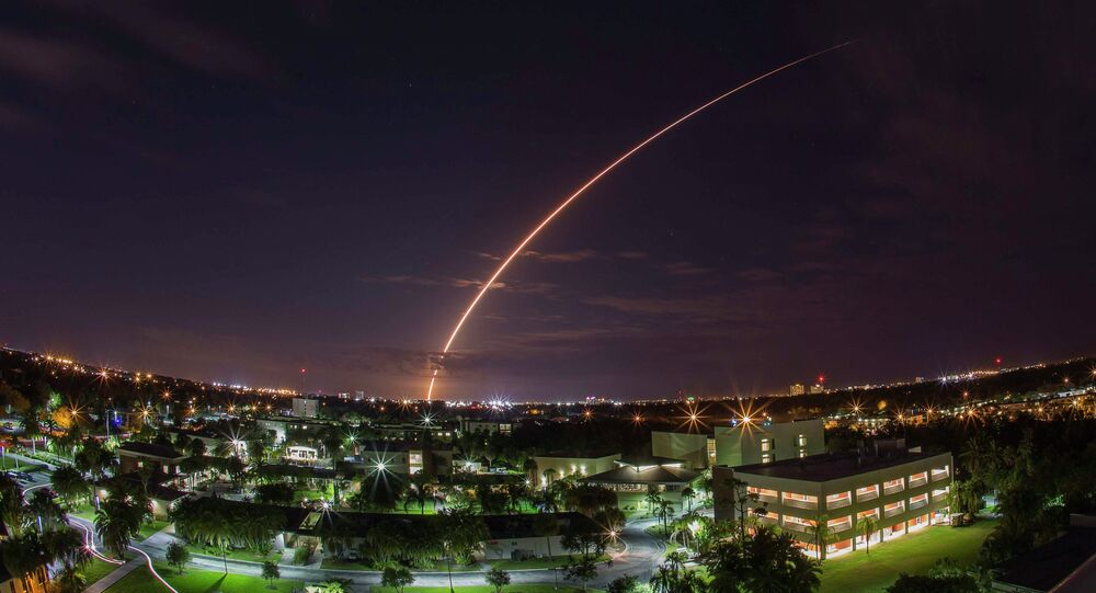 A United Launch Alliance Atlas V 551 rocket
