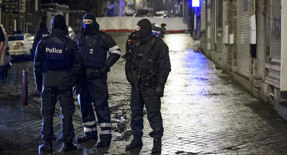 Belgian police are seeking a male relative of the female suicide bomber who detonated her explosive belt during a pre-dawn raid in a Paris suburb this week, informed sources told local media Friday, citing fears of retribution.