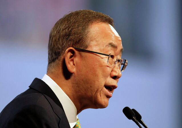 UN Secretary General Ban Ki-moon called security forces of DRC and protesters to refrain from violence