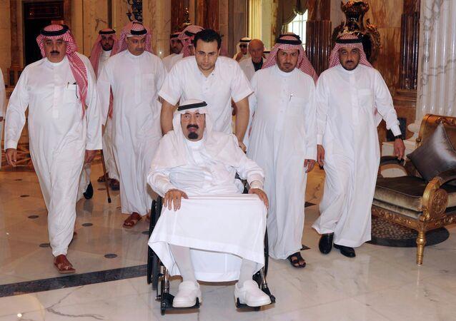 The sixth king of Saudi Arabia Abdullah bin Abdulaziz Saud died at the age of 90