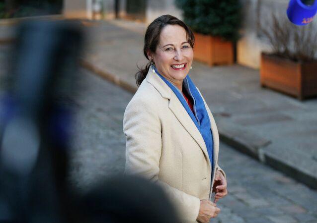 French Minister for Ecology, Sustainable Development and Energy Segolene Royal