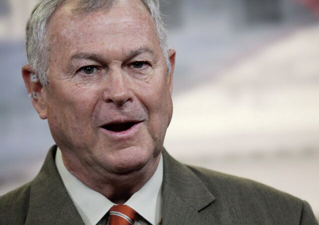 Rep. Dana Rohrabacher, R-Calif. speaks during a news conference on Capitol Hill in Washington, Thursday, Nov. 13, 2013