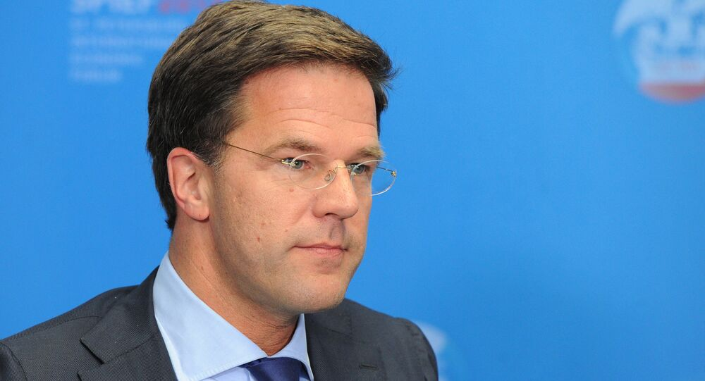 The final report on the crashing of the Malaysia Airlines flight MH17 in south-eastern Ukraine is expected to be ready by the second half of this year: Mark Rutte