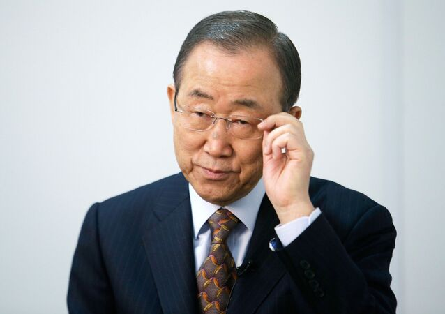 UN Secretary General Ban Ki-moon called on the conflicting sides in Yemen to exercise restraint and maintain peace