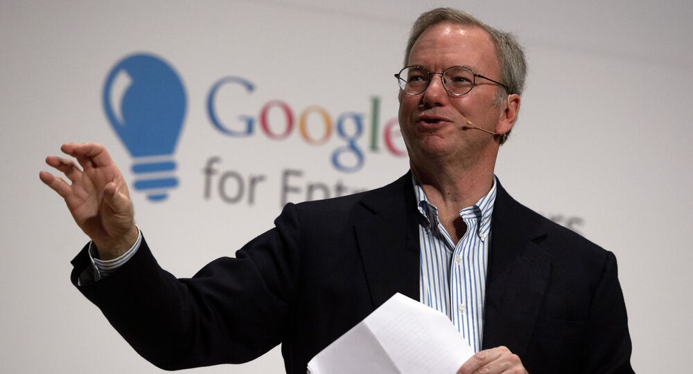 Former Google Executive Chairman Eric Schmidt