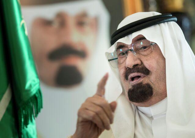 Abdullah bin Abdulaziz Al Saud, the sixth king of Saudi Arabia
