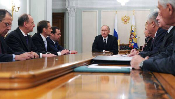 President Vladimir Putin holds Russian Security Council meeting - Sputnik International