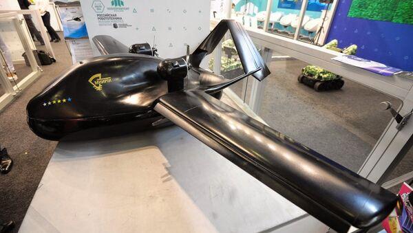 A mock-up of the 750kg variant of the Chirok UAV. - Sputnik International