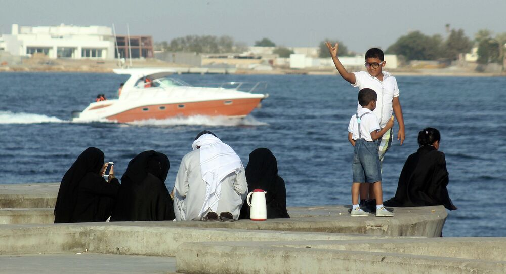 The Saudi government has banned Saudi  families from adopting  foreign  children