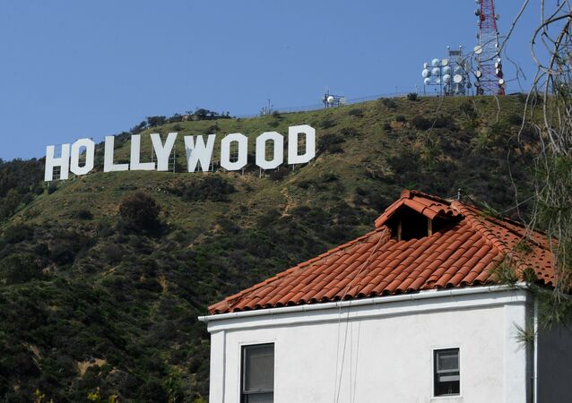 The Hollywood sign in California