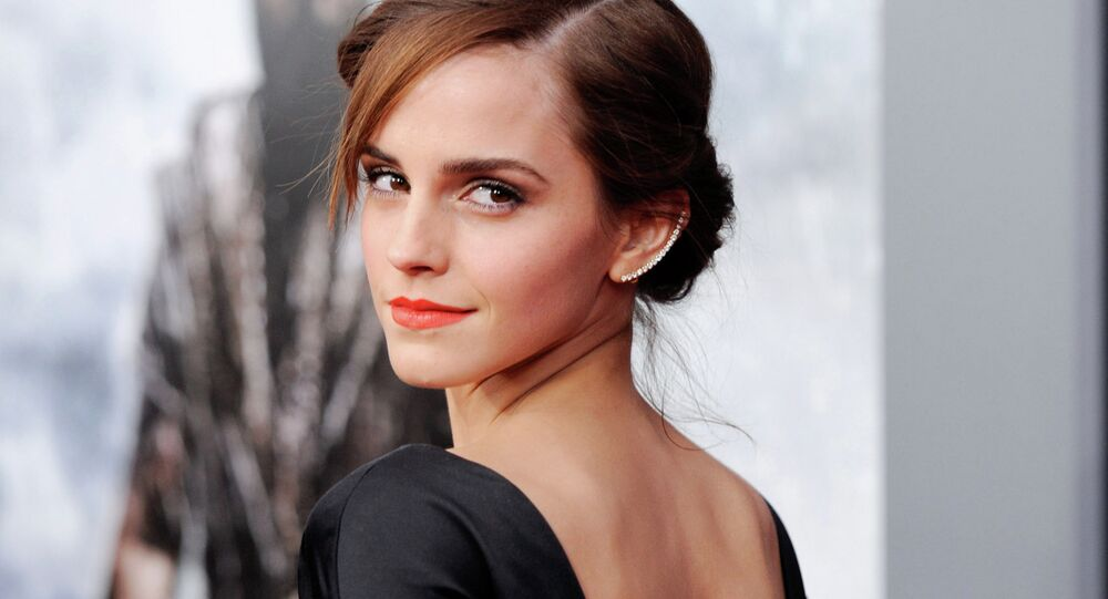 This March 26, 2014 file photo shows actress Emma Watson at the premiere of Noah, in New York