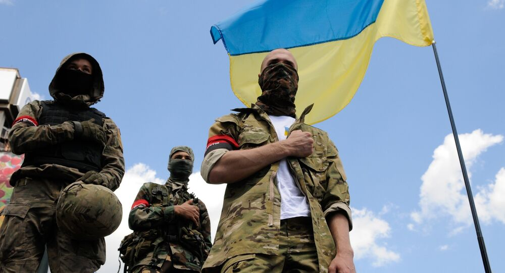 The addition includes the Right Sector movement, the Ukrainian National Assembly — Ukrainian People's Self-Defense party, the radical 'Bratstvo' organization, as well as the Ukrainian Insurgent Army and the Stepan Bandera All-Ukrainian Organization 'Tryzub'