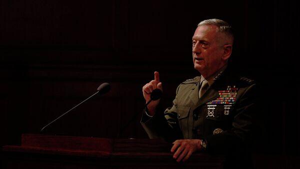 Gen. James Mattis, the former head of U.S. Central Command - Sputnik International