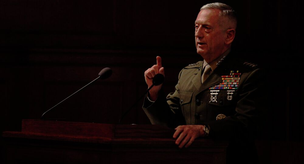 Gen. James Mattis, the former head of U.S. Central Command
