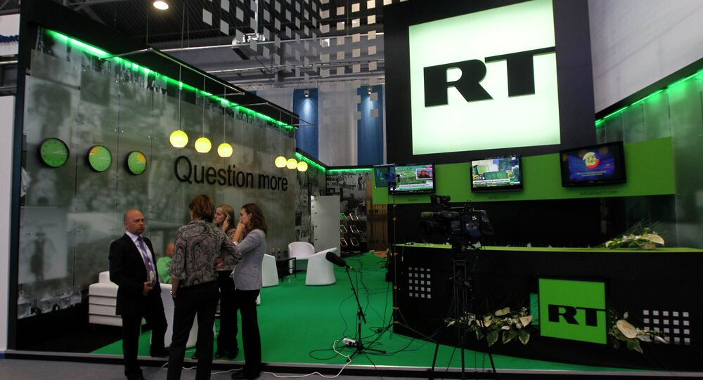 Russia Today English-language newsroom