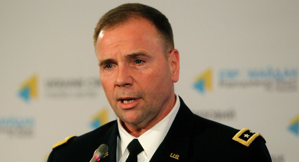 US Army Europe commander Lt. Gen. Ben Hodges