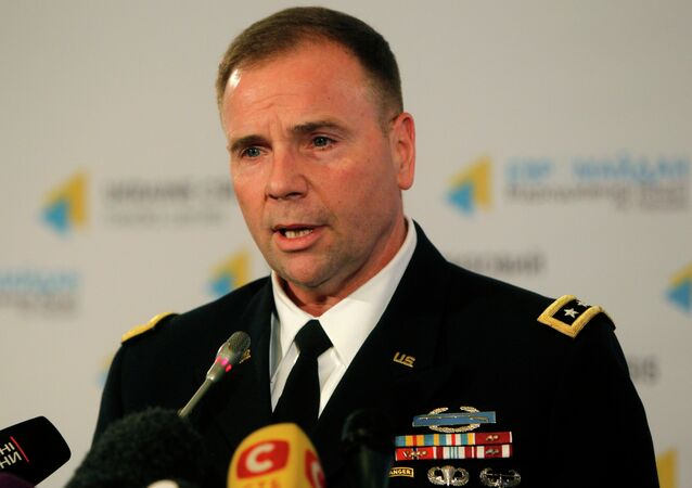 Former United States Army Europe (USAREUR) commander General Ben Hodges