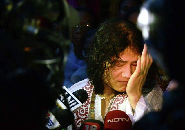 Indian rights activist Irom Sharmila