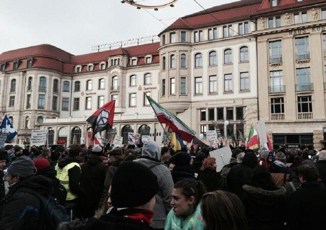 PEGADA protests in Erfurt