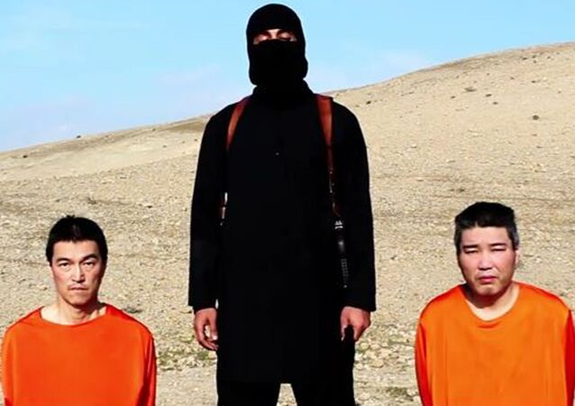 The Islamic State allegedly targeted Japanese nationals for Japan's involvement in the international campaign aimed at destroying the militant group