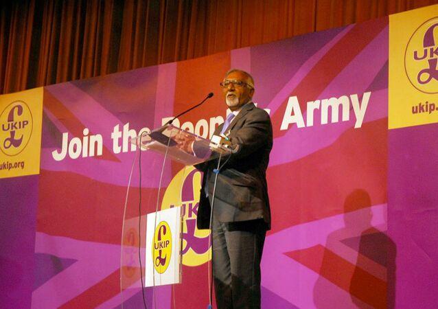 UK Independence Party (UKIP) member Amjad Bashir