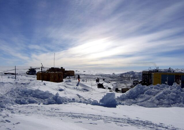A general view of the Vostock research camp in Antarctica is seen in this June 29, 2010 handout photograph